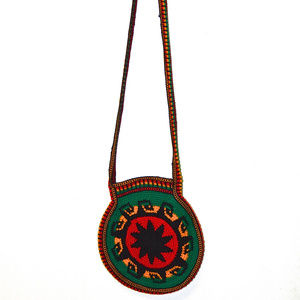 Handbags - Handmade Zippered Bag from South America